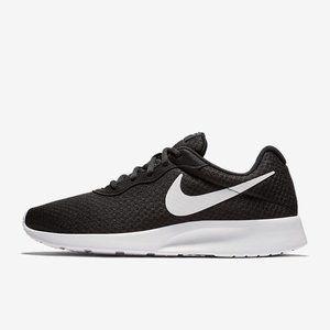 Youth Women Nike Free black White sneakers shoes